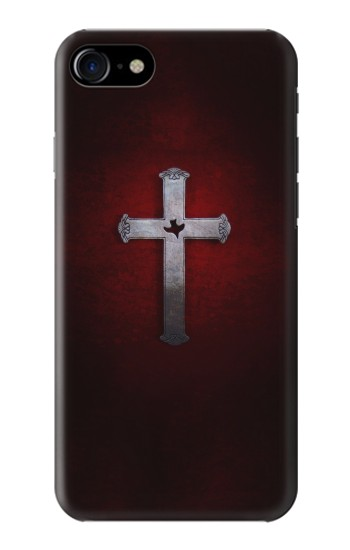 Printed Christian Cross Iphone 7 Case