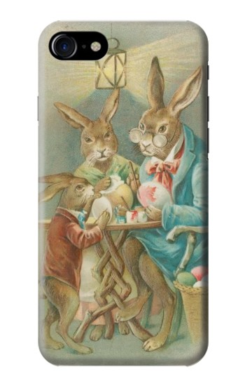Printed Easter Rabbit Family Iphone 7 Case