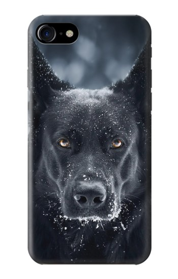 Printed German Shepherd Black Dog Iphone 7 Case