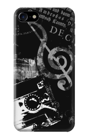 Printed Music Cassette Note Iphone 7 Case