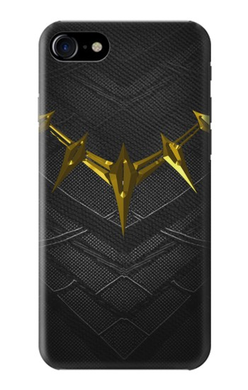 Printed Black Panther Inspired Costume Gold Necklace Iphone 7 Case