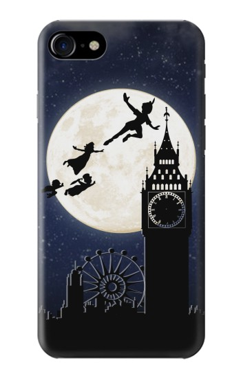 Printed Peter Pan Fly Fullmoon Night Iphone 7 Case