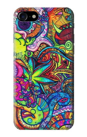 Printed Colorful Art Pattern Iphone 7 Case