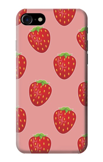 Printed Strawberry Fruit Pattern Iphone 7 Case