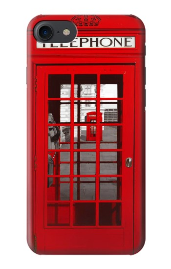 Printed Classic British Red Telephone Box HTC One E9+ Case
