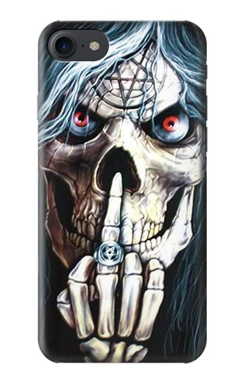 Printed Skull Pentagram HTC One E9+ Case