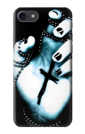 Printed Dark Gothic Cross Hand HTC One E9+ Case