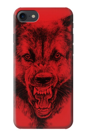 Printed Red Wolf HTC One E9+ Case