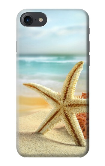 Printed Starfish on the Beach HTC One E9+ Case