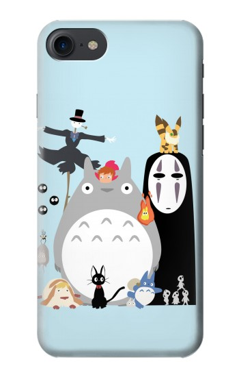 Printed Totoro Mononoke HTC One E9+ Case