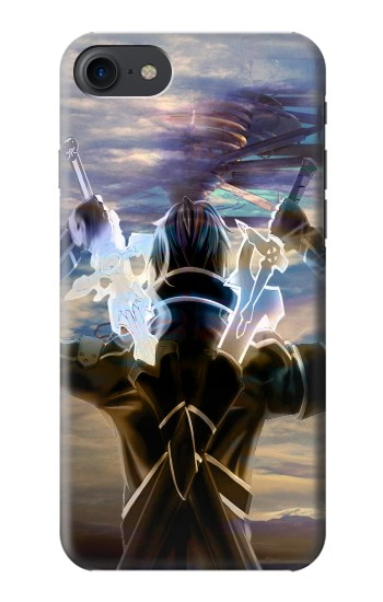 Printed Sword Art Online Kirito HTC One E9+ Case