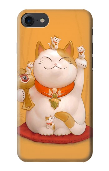 Printed Maneki Neko Lucky Cat HTC One E9+ Case