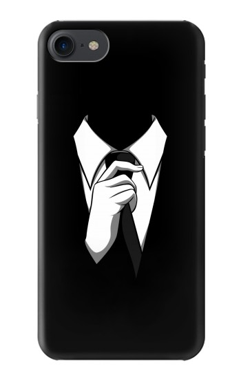 Printed Anonymous Man in Black Suit HTC One E9+ Case