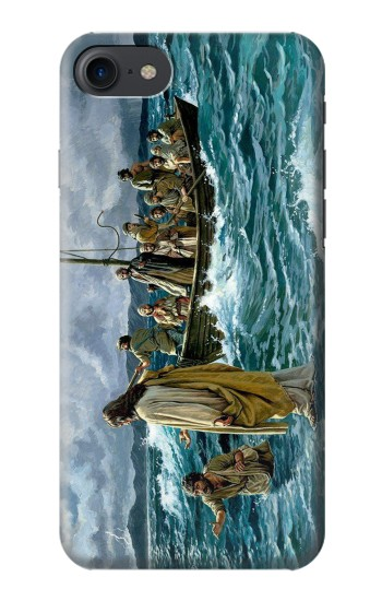 Printed Jesus Walk on The Sea HTC One E9+ Case