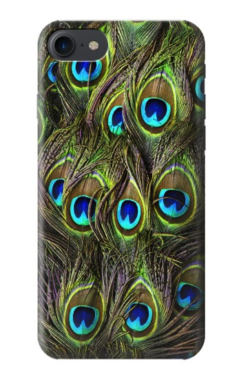 Printed Peacock Feather HTC One E9+ Case