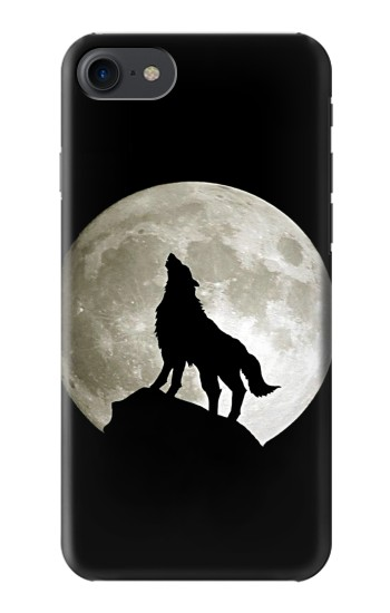 Printed Wolf Howling at The Moon HTC One E9+ Case