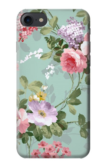 Printed Flower Floral Art Painting HTC One E9+ Case