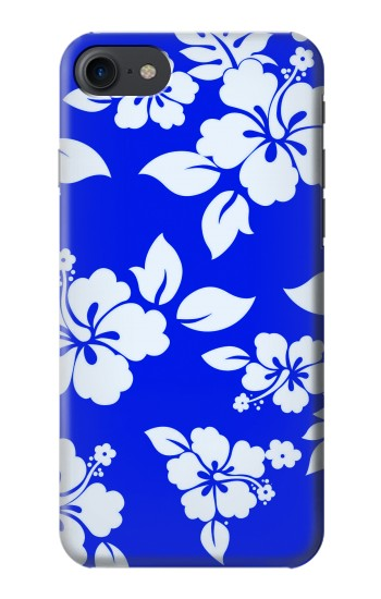 Printed Hawaiian Hibiscus Blue Pattern HTC One E9+ Case