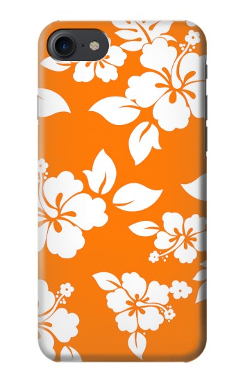 Printed Hawaiian Hibiscus Orange Pattern HTC One E9+ Case