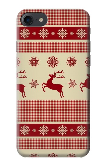 Printed Christmas Snow Reindeers HTC One E9+ Case
