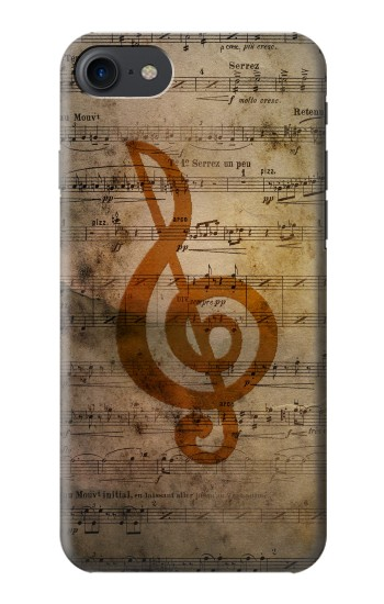 Printed Sheet Music Notes HTC One E9+ Case