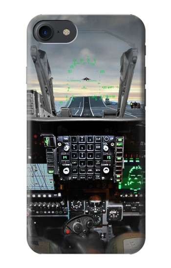 Printed Fighter Jet Aircraft Cockpit HTC One E9+ Case
