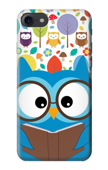 Printed Cute Owl Cartoon HTC One E9+ Case
