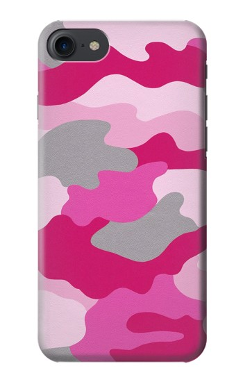 Printed Pink Camouflage HTC One E9+ Case