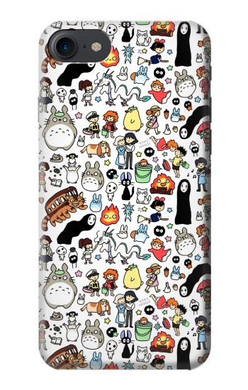 Printed Ghibli Characters HTC One E9+ Case