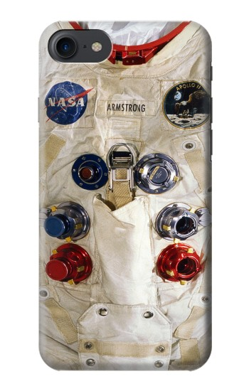 Printed Neil Armstrong White Astronaut Spacesuit HTC One E9+ Case
