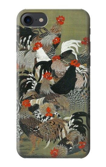 Printed Ito Jakuchu Rooster HTC One E9+ Case
