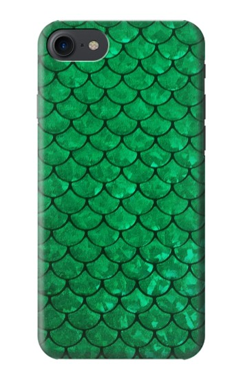 Printed Green Fish Scale Pattern HTC One E9+ Case