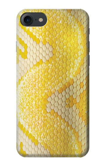 Printed Yellow Snake Skin HTC One E9+ Case