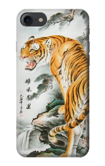 Printed Chinese Tiger Painting Tattoo HTC One E9+ Case