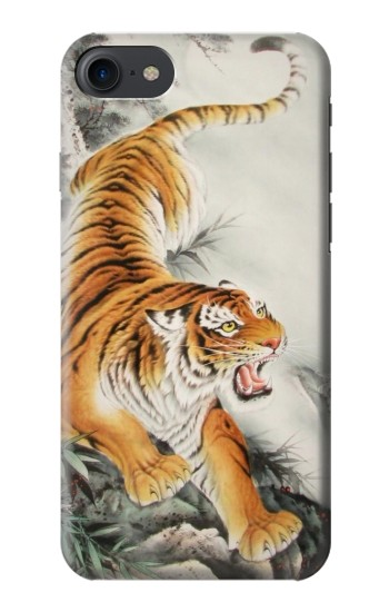 Printed Chinese Tiger Tattoo Painting HTC One E9+ Case