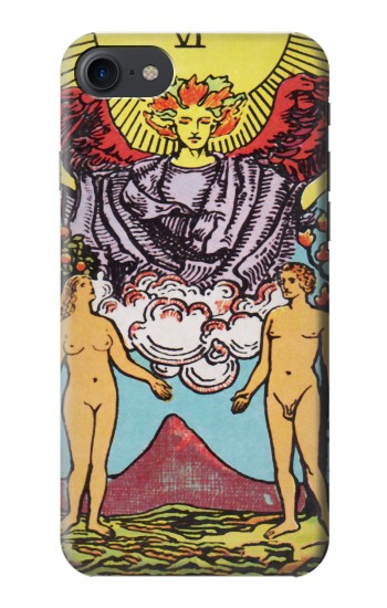 Printed Lovers Tarot Card HTC One E9+ Case