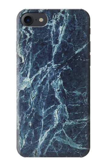 Printed Light Blue Marble Stone Texture Printed HTC One E9+ Case