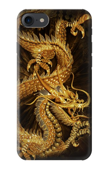 Printed Chinese Gold Dragon Printed HTC One E9+ Case