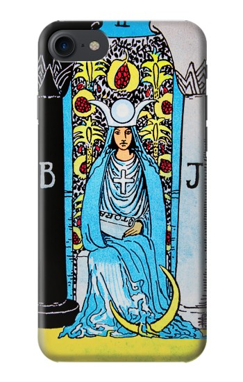 Printed The High Priestess Vintage Tarot Card HTC One E9+ Case
