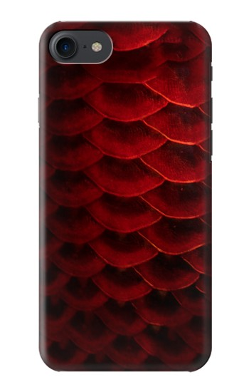 Printed Red Arowana Fish Scale HTC One E9+ Case