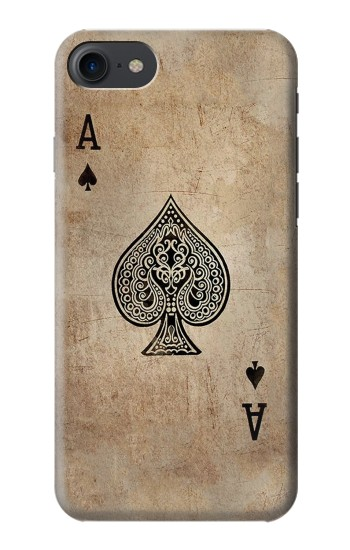 Printed Vintage Spades Ace Card HTC One E9+ Case