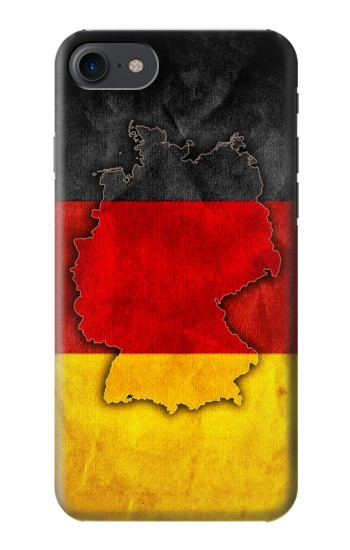 Printed Germany Flag Map HTC One E9+ Case