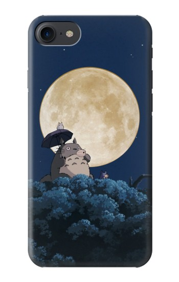 Printed Totoro Ocarina Moon Night HTC One E9+ Case