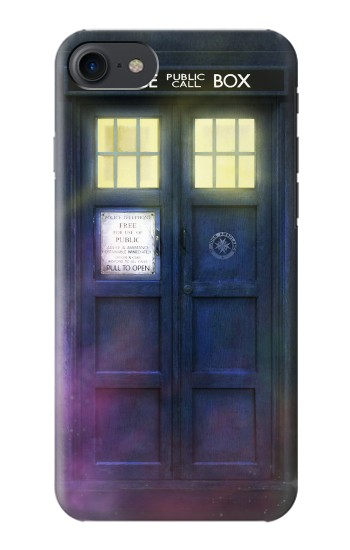 Printed Tardis Phone Box HTC One E9+ Case