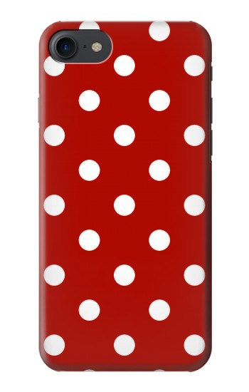 Printed Red Polka Dots HTC One E9+ Case
