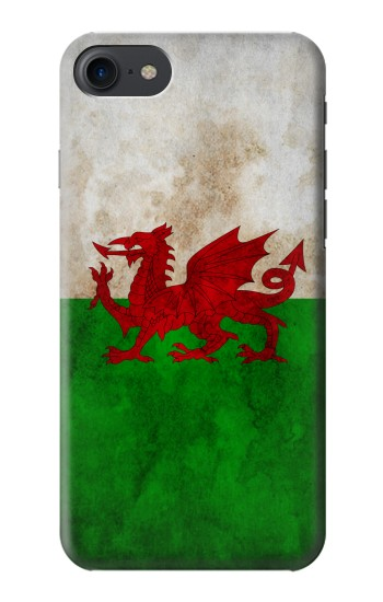 Printed Wales Red Dragon Flag HTC One E9+ Case