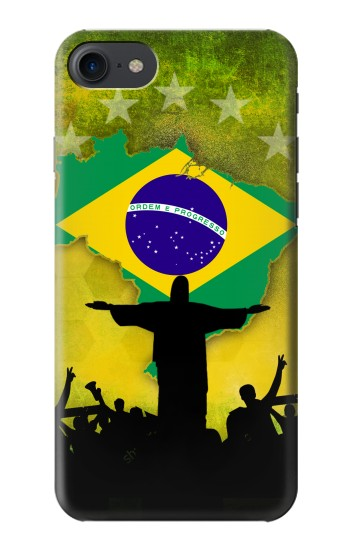 Printed Brazil Football Flag HTC One E9+ Case