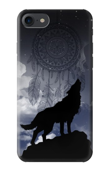 Printed Dream Catcher Wolf Howling HTC One E9+ Case