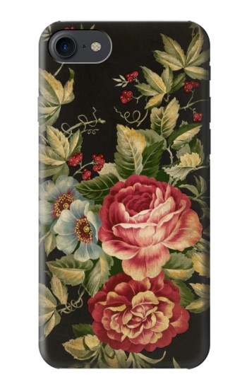 Printed Vintage Antique Roses HTC One E9+ Case