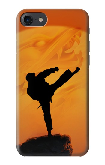 Printed Kung Fu Karate Fighter HTC One E9+ Case